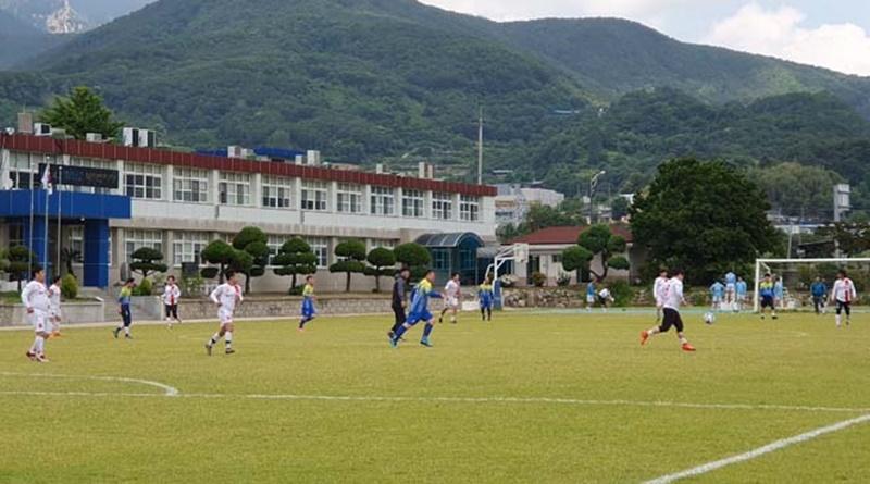 가야면생활축구회 창립 30주년 기념 영․호남친선축구대회
