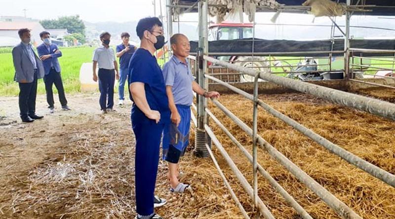 합천군, 가축 무료 순회진료