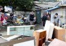 합천 민관군 합동 응급복구 지원반 홍수피해 복구에 총력