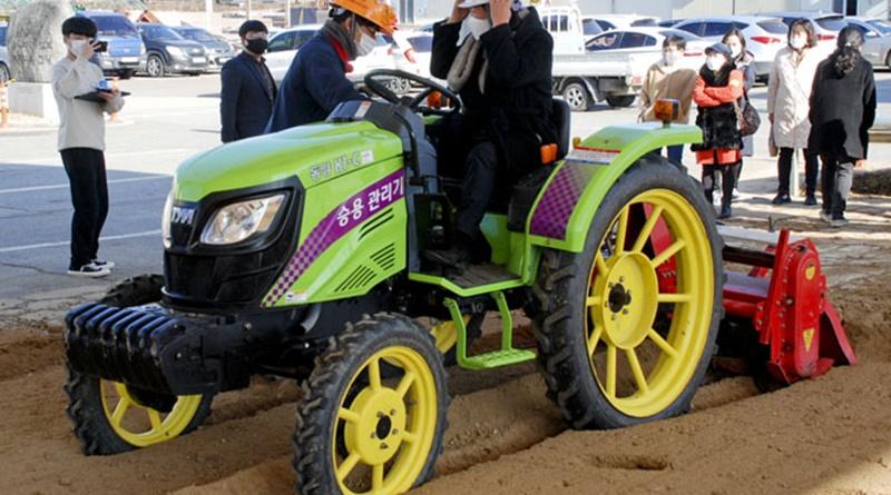 여성농업인 농기계 안전운행 기술교육