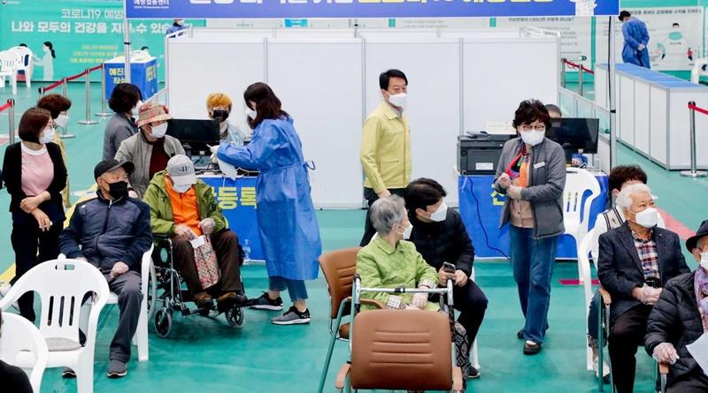 합천군, 15일부터 75세 이상 어르신 화이자 백신접종 시작