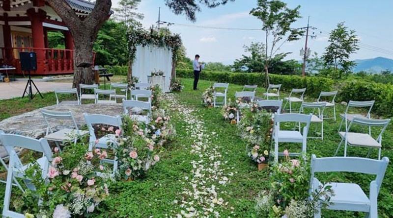 가야산생태탐방원 숲 속 작은 결혼식 운영